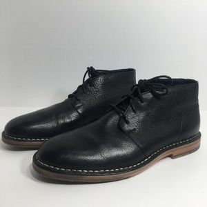 Cole Haan Mens Chukka Boots Black Size 10